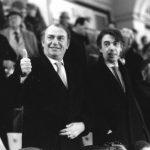 Javier Zanetti tra Rosa Parks, Emiliano Bigica e Mario Monti