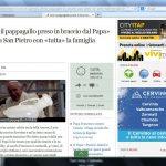 Papa Francesco e il pappagallo