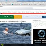 Napolitano: relax al mare con la moglie Clio
