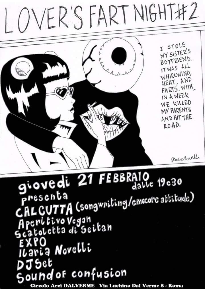 Lover's Fart Night #2 - Circolo Dal Verme - Calcutta