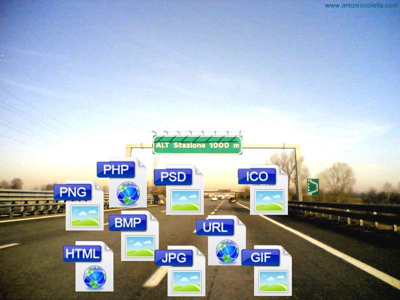 File in autostrada