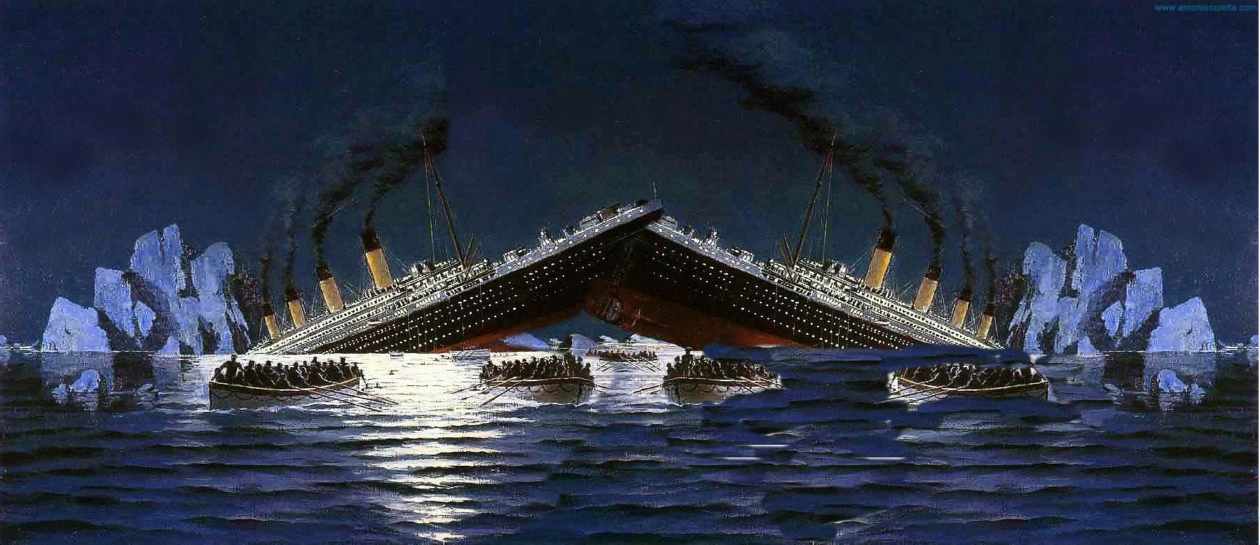 Scontro tra Titanic